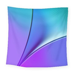 Line Blue Light Space Purple Square Tapestry (large) by Mariart
