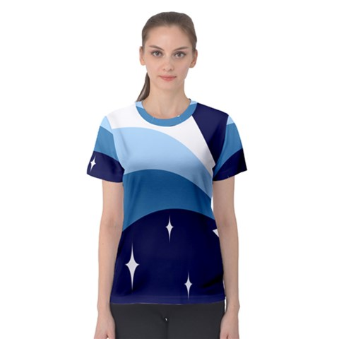 Star Gender Flags Women s Sport Mesh Tee by Mariart