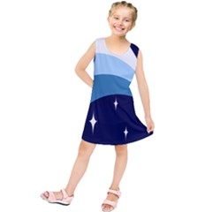 Star Gender Flags Kids  Tunic Dress by Mariart