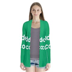 Student Discound Sale Green Cardigans