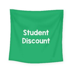Student Discound Sale Green Square Tapestry (small) by Mariart