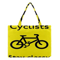 Stay Classy Bike Cyclists Sport Medium Tote Bag by Mariart