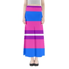Transgender Flags Maxi Skirts