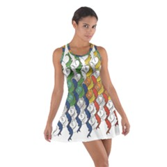 Rainbow Fish Cotton Racerback Dress by Mariart