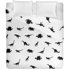 Dinosaurs Pattern Duvet Cover Double Side (california King Size)