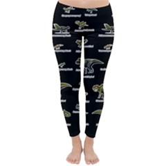 Dinosaurs Names Classic Winter Leggings
