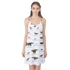 Dinosaurs Names Camis Nightgown
