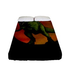 Dinosaurs T Rex Fitted Sheet (full/ Double Size)