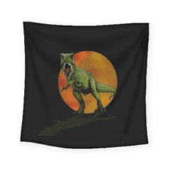 Dinosaurs T Rex Square Tapestry (small)