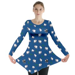 Sweet Dreams  Long Sleeve Tunic  by Valentinaart