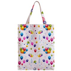 Balloons   Zipper Classic Tote Bag by Valentinaart
