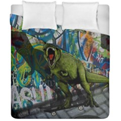 Urban T Rex Duvet Cover Double Side (california King Size)