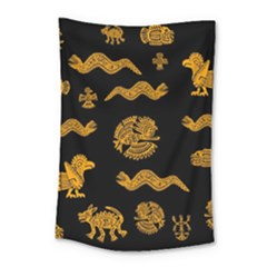 Aztecs Pattern Small Tapestry