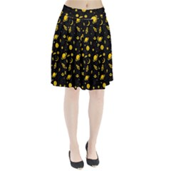 Space Pattern Pleated Skirt