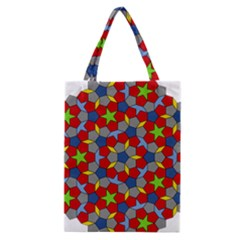 Penrose Tiling Classic Tote Bag by Nexatart