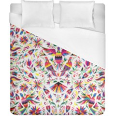 Otomi Vector Patterns On Behance Duvet Cover (california King Size) by Nexatart