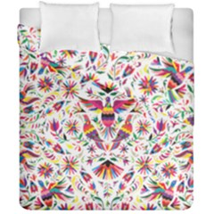Otomi Vector Patterns On Behance Duvet Cover Double Side (california King Size) by Nexatart