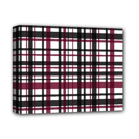Plaid Pattern Deluxe Canvas 14  X 11  by ValentinaDesign