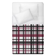 Plaid Pattern Duvet Cover (single Size) by ValentinaDesign