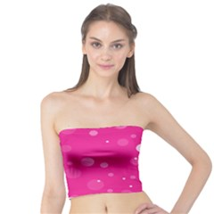 Decorative Dots Pattern Tube Top by ValentinaDesign