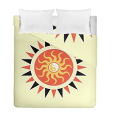 Yin Yang Sunshine Duvet Cover Double Side (full/ Double Size) by linceazul
