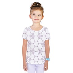 Density Multi Dimensional Gravity Analogy Fractal Circles Kids  One Piece Tee