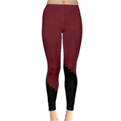 Walking Stairs Steps Person Step Leggings  by Nexatart