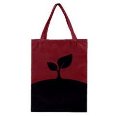 Plant Last Plant Red Nature Last Classic Tote Bag by Nexatart