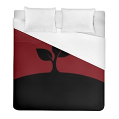 Plant Last Plant Red Nature Last Duvet Cover (full/ Double Size)