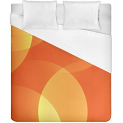 Abstract Orange Yellow Red Color Duvet Cover (california King Size) by Nexatart
