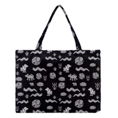 Aztecs Pattern Medium Tote Bag by ValentinaDesign