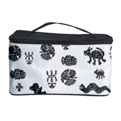 Aztecs Pattern Cosmetic Storage Case by ValentinaDesign
