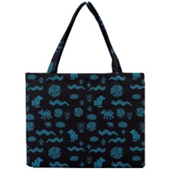 Aztecs Pattern Mini Tote Bag by ValentinaDesign