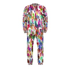 Colorful spirals on a white background             OnePiece Jumpsuit (Kids)