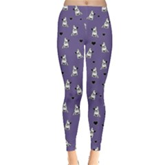 French Bulldog Leggings  by Valentinaart