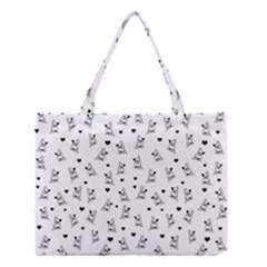 French Bulldog Medium Tote Bag by Valentinaart