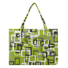 Pattern Abstract Form Four Corner Medium Tote Bag by Nexatart