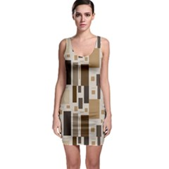 Pattern Wallpaper Patterns Abstract Sleeveless Bodycon Dress