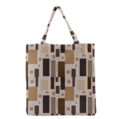 Pattern Wallpaper Patterns Abstract Grocery Tote Bag by Nexatart