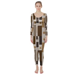 Pattern Wallpaper Patterns Abstract Long Sleeve Catsuit by Nexatart