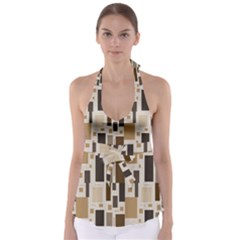 Pattern Wallpaper Patterns Abstract Babydoll Tankini Top