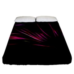 Pattern Design Abstract Background Fitted Sheet (queen Size) by Nexatart