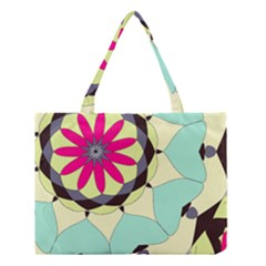 Pink Flower Medium Tote Bag