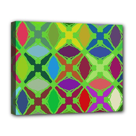 Abstract Pattern Background Design Deluxe Canvas 20  X 16   by Nexatart