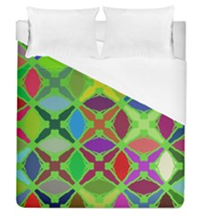 Abstract Pattern Background Design Duvet Cover (queen Size) by Nexatart