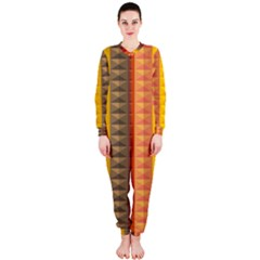 Abstract Pattern Background Onepiece Jumpsuit (ladies)