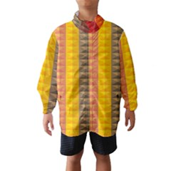 Abstract Pattern Background Wind Breaker (kids)