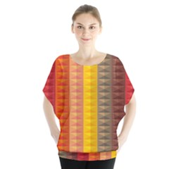 Abstract Pattern Background Blouse by Nexatart