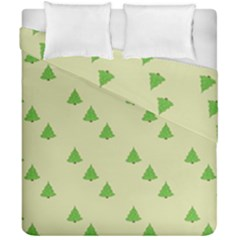 Christmas Wrapping Paper Pattern Duvet Cover Double Side (california King Size) by Nexatart