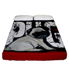 Pug Fitted Sheet (king Size)